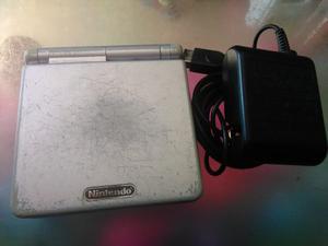 Gameboy Avance Sp Ags 001 Color Plata.