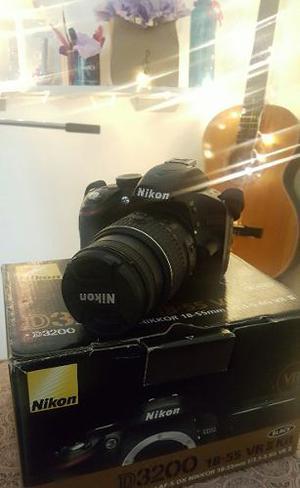 Camara Nikon D - Solo  Disparos ¡como Nueva!