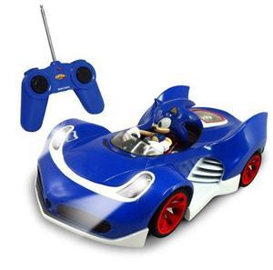Coche De Juguete Sonic A Control Remoto Azul, Envio Gratis