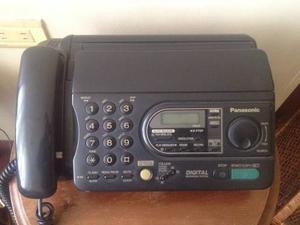 Fax Teléfono Panasonic Kx Ft37 Perfecto Completo