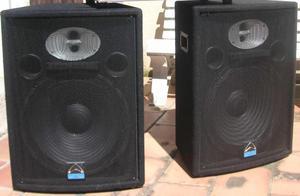 GANGA cabinas de sonido 12'' por solo  cada una