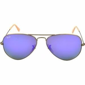 Gafas De Sol Ray-ban Mujer Espejo Aviator Envio Gratis