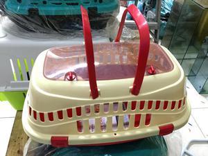 Guacal Plastico Para transporte de Perros Y Gatos!!!!