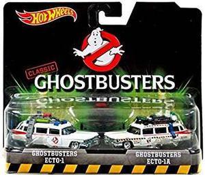 Juguete Hot Wheels, Clásico Ghostbusters Ecto-1 Y Ecto-1a V