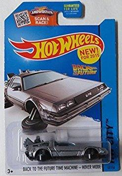 Juguete Hot Wheels,  Hw City, Back To The Future Time M