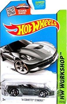 Juguete Hot Wheels,  Hw Workshop, '14 Corvette W42