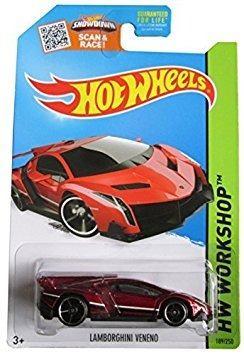 Juguete Hot Wheels,  Hw Workshop, Lamborghini Veneno [m