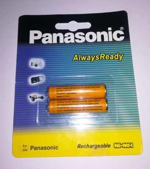 Pilas Panasonic Aaa Hhr-55aaabu Recargables 550 Mah *2 Unid