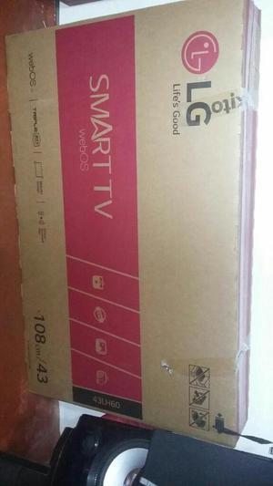 Televisor Lg 43 Smart Tv Ref: 43lh600t