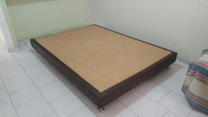 VENDO SOMIER / BASE CAMA DOBLE 1.40 X 1.90 m, COMO NUEVO DE