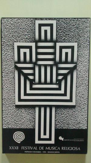 Afiche en Retablo de Omar Rayo