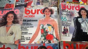 Coleccion de revistas Burdas, alta costura Europea