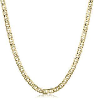 Collar Cadena Mariner 14k 2.3mm De Oro, Hombres, 24 \