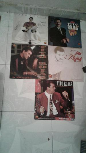 Discos Lp de Tito Rojas