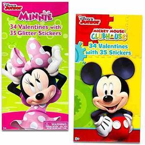 Disney Mickey Mouse Y Minnie Mouse Día De San Valentín