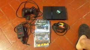 Play Station 2 En Buen Estado, Con Juegos