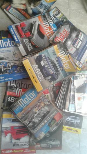 Vendo Colección de Revistas Motor.