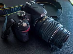 Cámara Nikon D, Lente AFS mm Y Accesorios