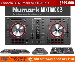 Consola DJ Numark MIXTRACK 3