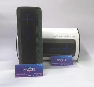 Parlante Bluetooth, Ue Megaboom · Negro 20 Hrs musica
