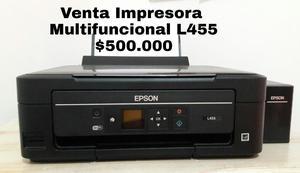 Venta de impresora Multifuncional Marca Epson como nueva por