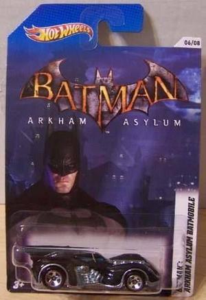 Carro Hot Wheels Batman Arkham Asylum Envío Gratis