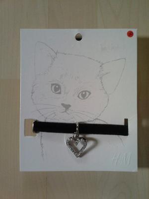 Collar Para Gato Marca H&m