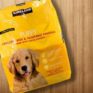 Comida para perro puppy kirkland super premium