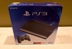 Consola Playstation 3 Super Slim 500gb + Control Inalambrico