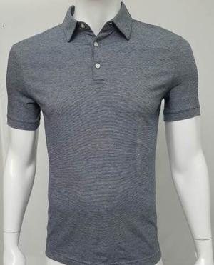 H&m Camiseta Tipo Polo Ref  (gris, S)