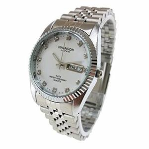 Reloj Swanson De Acero Inoxidble Para Hombre - Envio Gratis