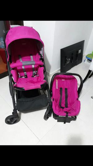 Coche Y Silla para Carro de Bebe