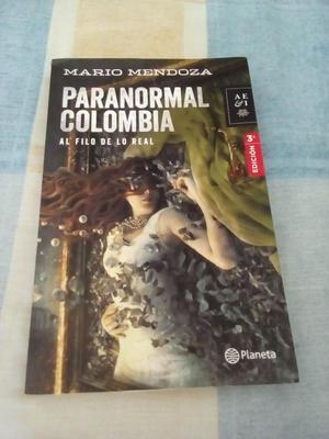 LIBRO literatura PARANORMAL COLOMBIA autor mario mendoza