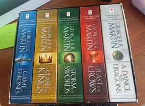 Libros de Game Of Thrones en Ingles!