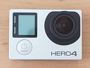 Cámara Go Pro Hero 4 Silver
