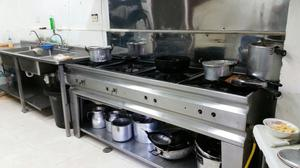 Equipo industrial para cocina restaurant posot class for Cocina wok industrial