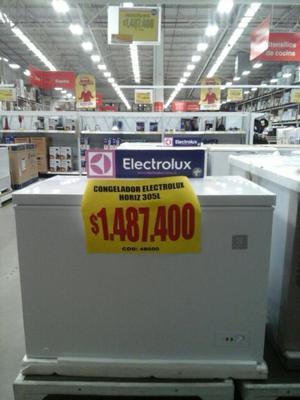 Congelador Electrolux,nuevo 305 Litros