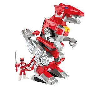 Fisher-price Imaginext Power Rangers Ranger Rojo Y T-rex...