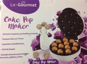 Maquina de cake pop se vende o se cambia por una sandwichera