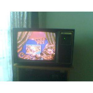 Televisor antiguo Zenith de 21 pulgadas, space commander,