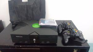 Xbox Negro Clasico 32 Gb Con 40 Juegos,2 Controles Y Tapete