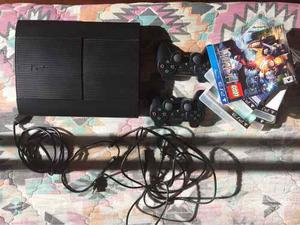 Play Station gb), 2 Controles Y 7 Juegos.
