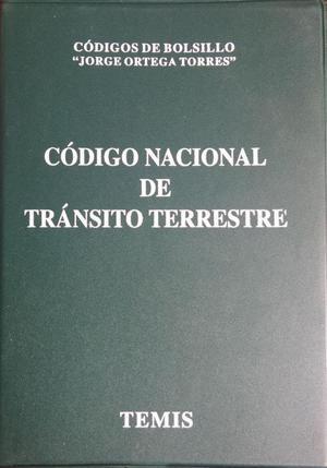 Codigo Nacional de Transito Terrestre