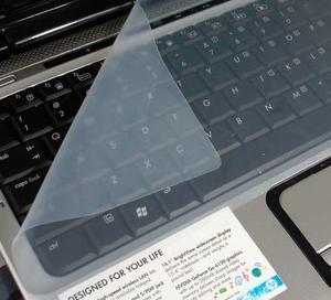 Forro Protector De Teclado Portatil Silicona Transparente 14