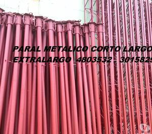 PARAL METALICO LARGO 2 METROS ENVIOS A NIVEL NACIONAL