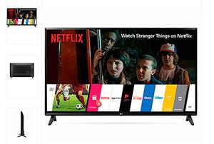 Televisor Led 43 Pulgadas Full Hd Smart Tv LG