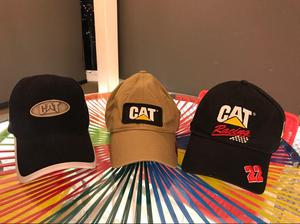 Gorras Combo 3 Cat, Caterpillar, Poco Uso, Originales