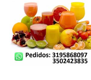 Pulpa de fruta natural 100% presentacion 1 kilogramo