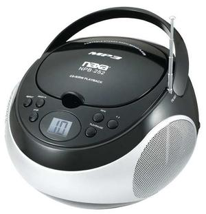 Reproductor De Cd/mp3 Portátil Naxa Con Am / Fm Estéreo,