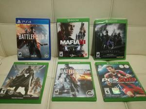 Cambio Juegos de Xbox One Y Ps4